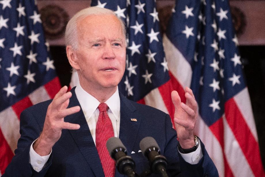 Le candidat démocrate à la Maison Blanche Joe Biden lors d'un discours à Philadelphie, le 2 juin 2020
