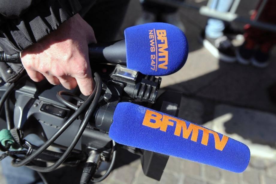 Les antennes de BFMTV, RMC et RMC Découverte étaient perturbées mercredi matin par la première grève de son histoire, contre les suppressions de postes prévues par la filiale d'Altice.
