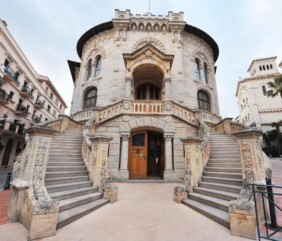 Palais de Justice de Monaco.