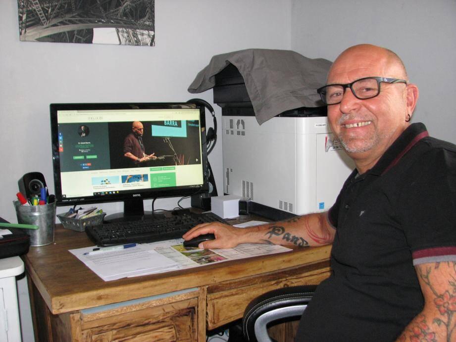 Expert en addictologie, Lionel Barra ouvre un service d'information national sur le web.