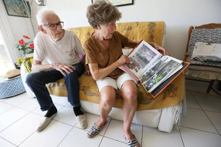 Raymond et Pépita Pisi ont perdu la maison qu'ils avaient faite construireàLa Motte. Traumatisés, ils se sont depuis installés à Fréjus, dans un appartement en hauteur, au 4e étage.