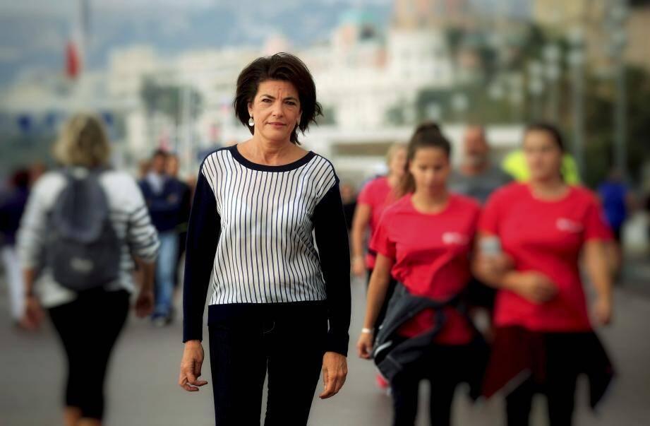 La sénatrice Dominique Estrosi-Sassone.