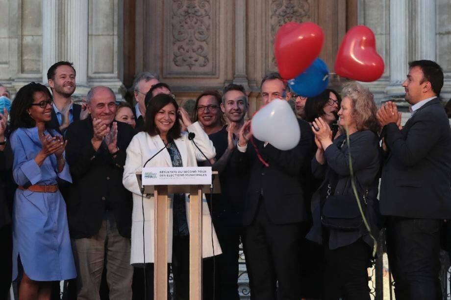 Anne Hidalgo le 28 juin 2020 à Paris.