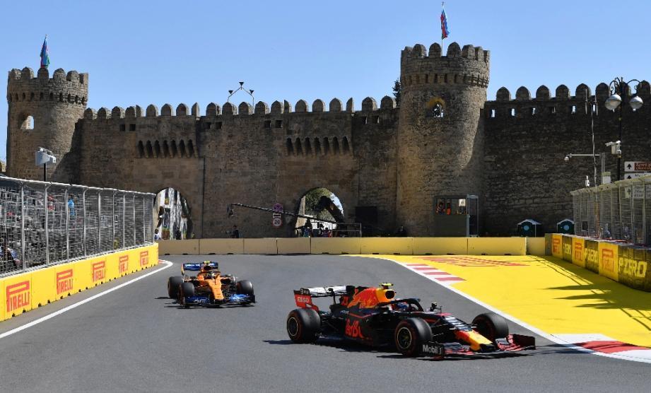 Le circuit du GP d'Azerbaïdjan à Bakou, le 27 avril 2019