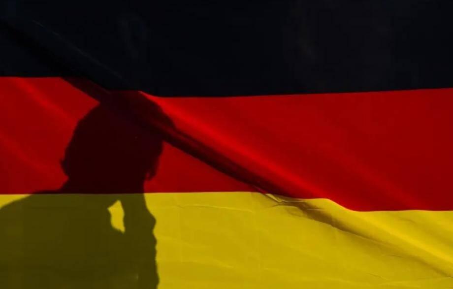 Le drapeau allemand.