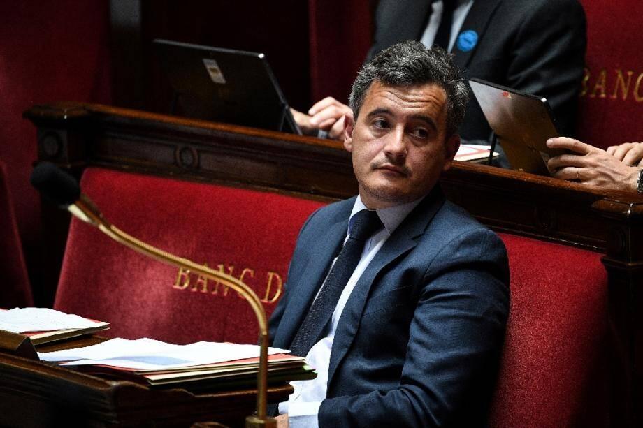 Le ministre de l'Action et des Comptes publics Gérard Darmanin à l'Assemblée nationale à Paris, le 10 juin 2020