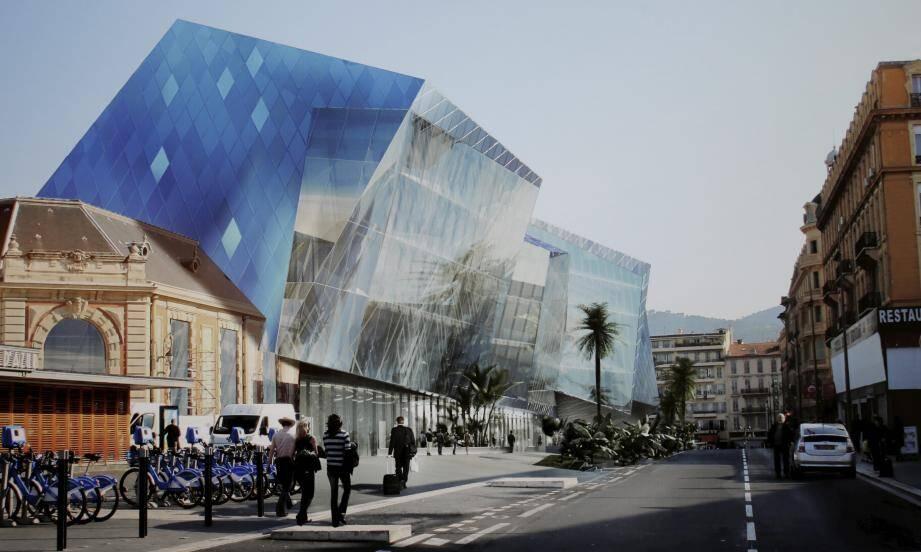 Le pharaonique projet Iconic, qui doit relier la gare Thiers à l'avenue Jean-Médecin.