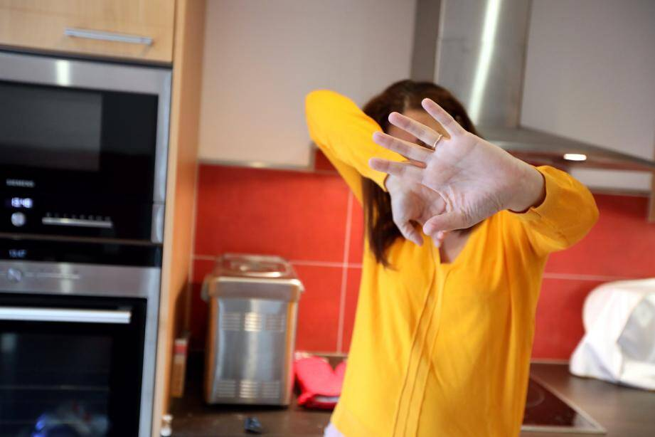 La jeune mère demandait réparation pour des coups portés par son ex-compagnon devant son enfant.(photo d'illustration).
