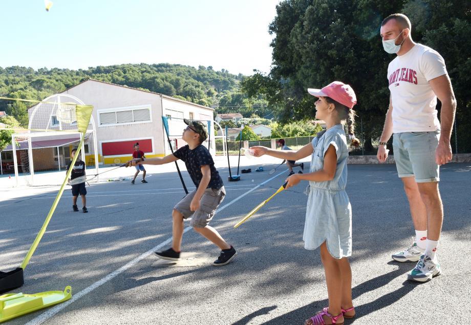 Jeux sportifs adaptés, activités manuelles... Tout a été repensé dans le respect du protocole sanitaire.