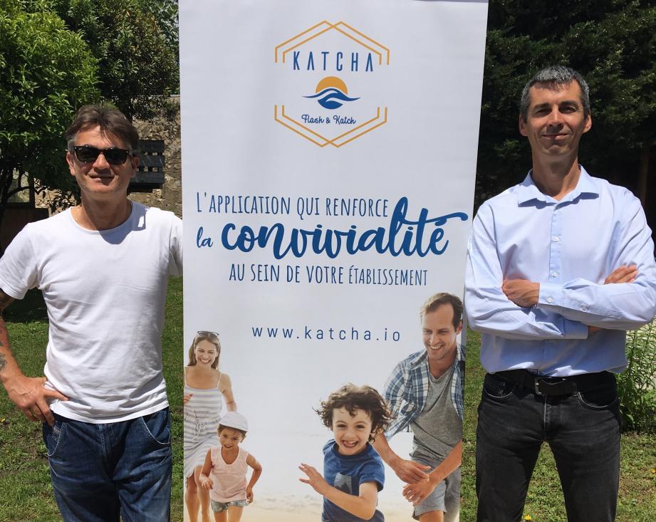 Nicolas Corniglion et Nicolas Chasez, les cofondateurs de Katcha.
