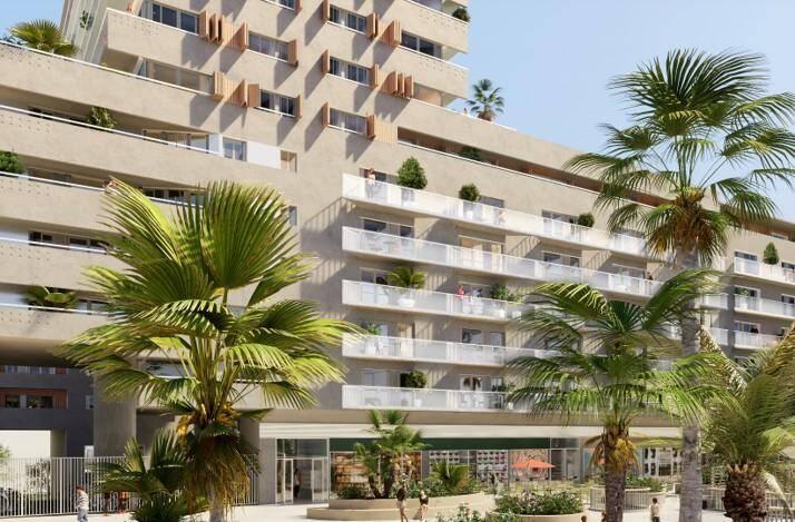 L'Écovallée de la Plaine du Var, un lieu mixte où se mêlent centre d'affaires, zone d'habitation, commerces, équipements et espaces verts.