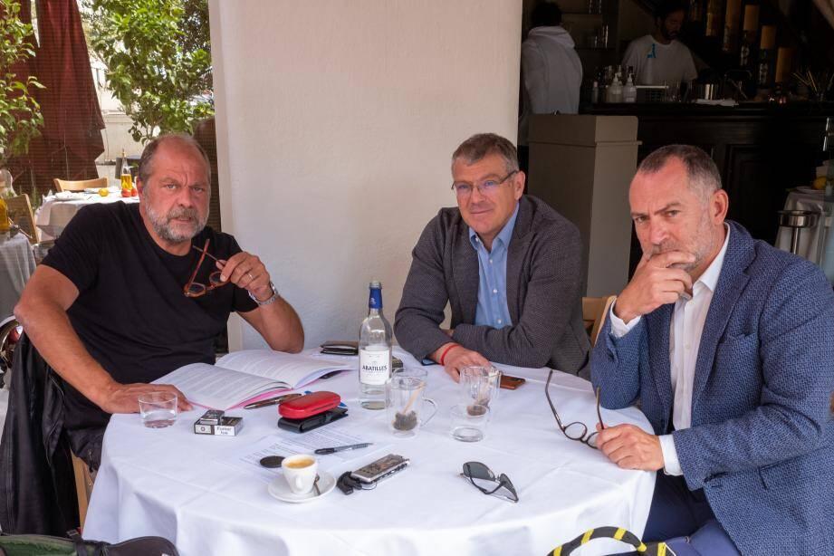 Mes Dupond-Moretti et Florent Ellia, Christophe Haget.