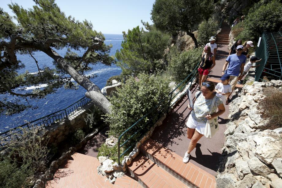 Les visiteurs pourront bientôt de nouveau arpenter les parcs de Monaco.