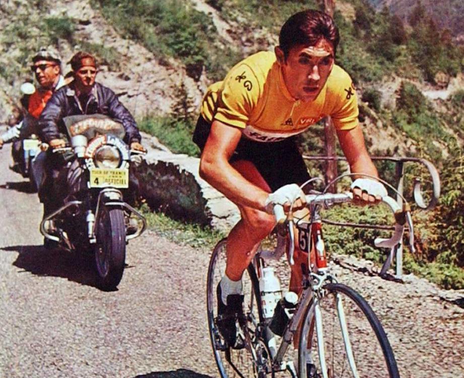 Merckx en jaune (1969)
