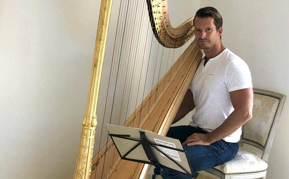 Le harpiste Xavier de Maistre.