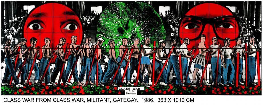 Gilbert & George class war