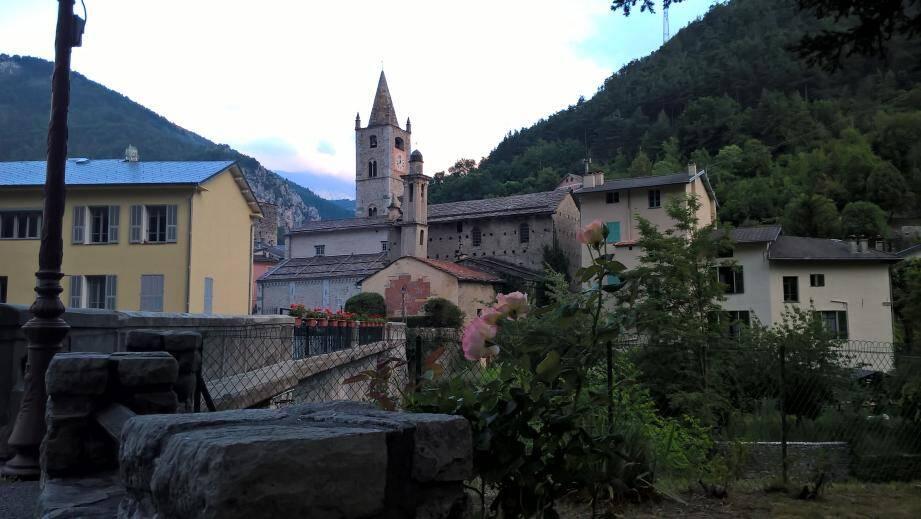 Une vue de La Brigue.