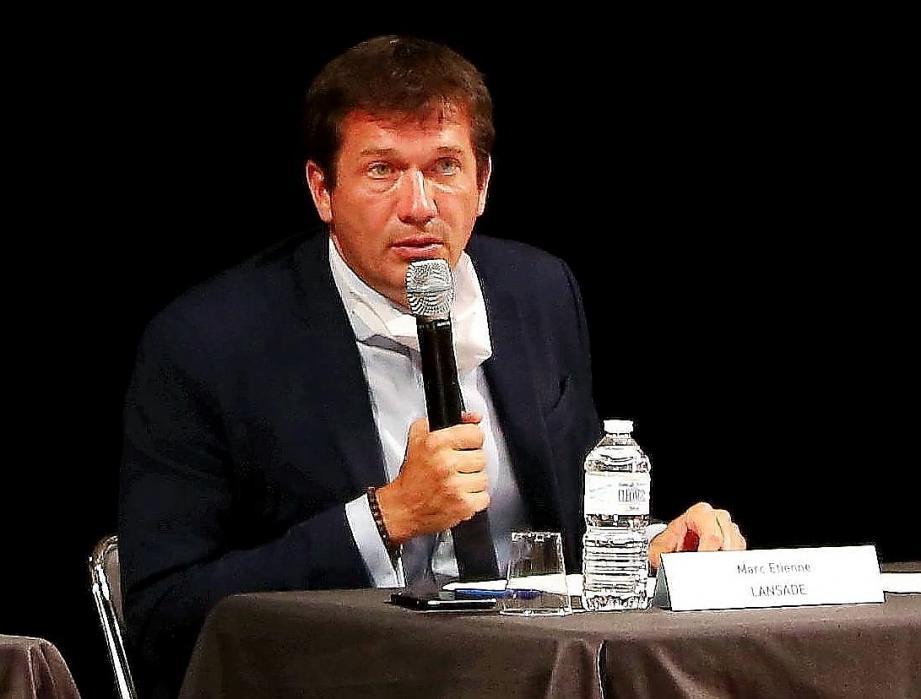 Mar-Etienne Lansade, le maire de Cogolin.