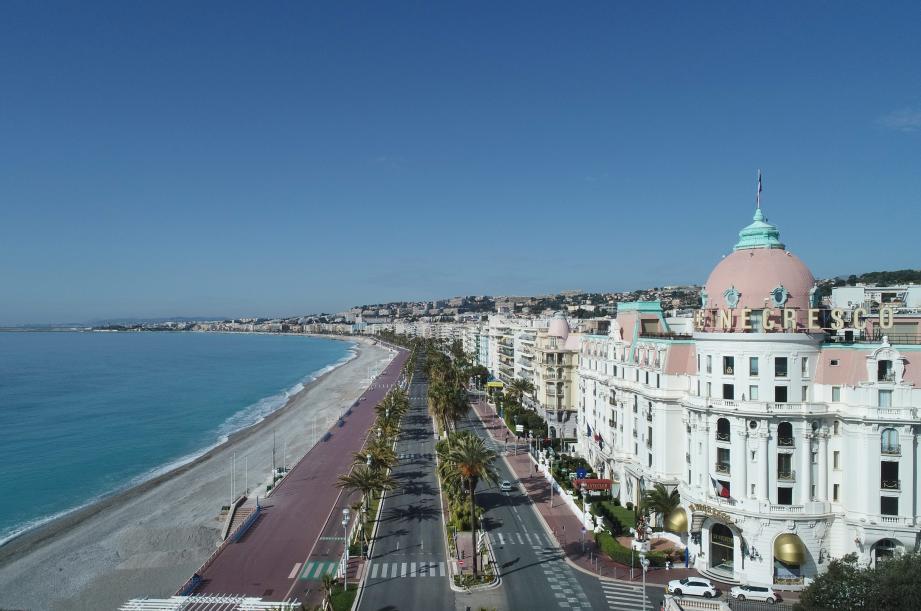 """Selon cette étude menée dans quatre villes françaises et trois pays européens, la promenade des Anglais est """"l'axe qui a connu la plus importante baisse de trafic""""."""