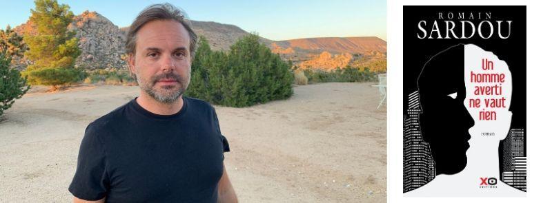 """""""Dans ce nouveau roman, je réutilise les descendants de la saga America mais ce n'est pas la suite directe"""", explique Romain Sardou."""
