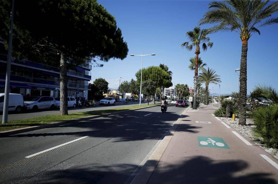 L'accident a eu lieu au 7 promenade de la Plage à Cagnes.
