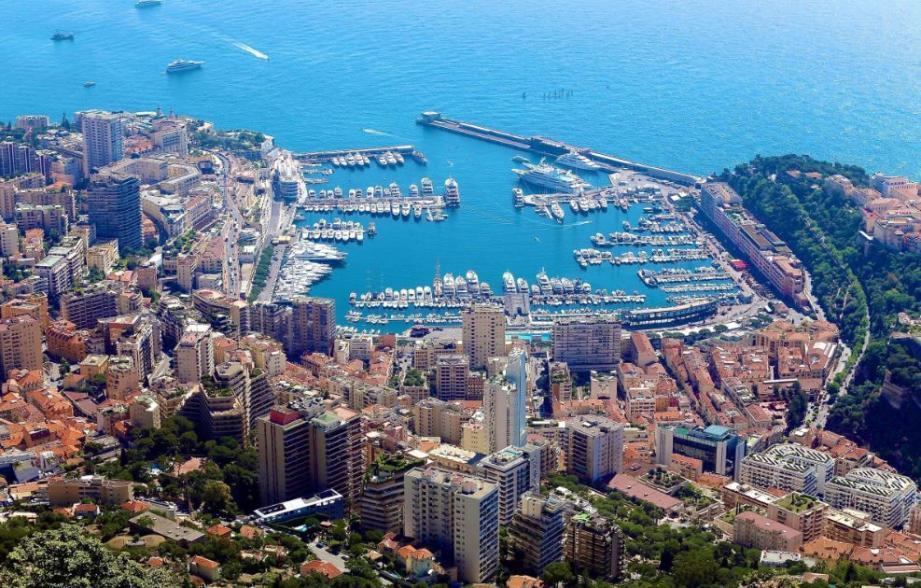 Vue générale sur Monaco
