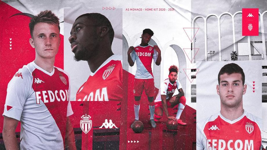 L'AS Monaco a dévoilé son nouveau maillot ce vendredi.