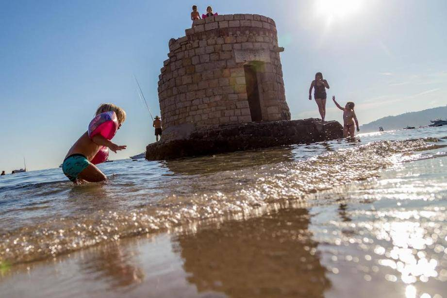 Les baigneurs sont de retour depuis vendredi midi aux Ondes (photo d'illustration).
