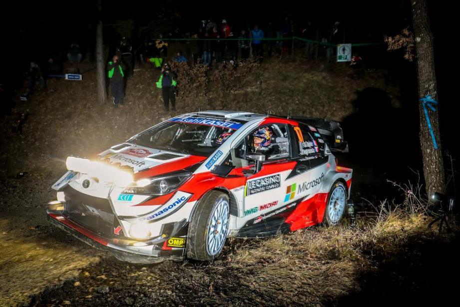 La nuit va gagner du terrain l'an prochain sur les routes du Rallye Monte-Carlo.