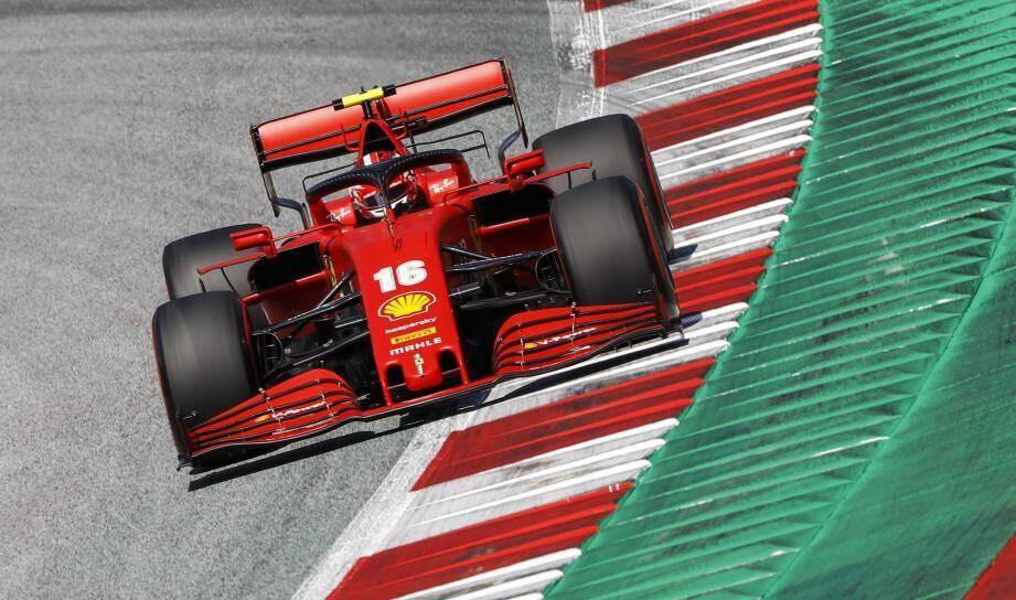 Première addition salée lors des qualifications pour Leclerc et Ferrari...