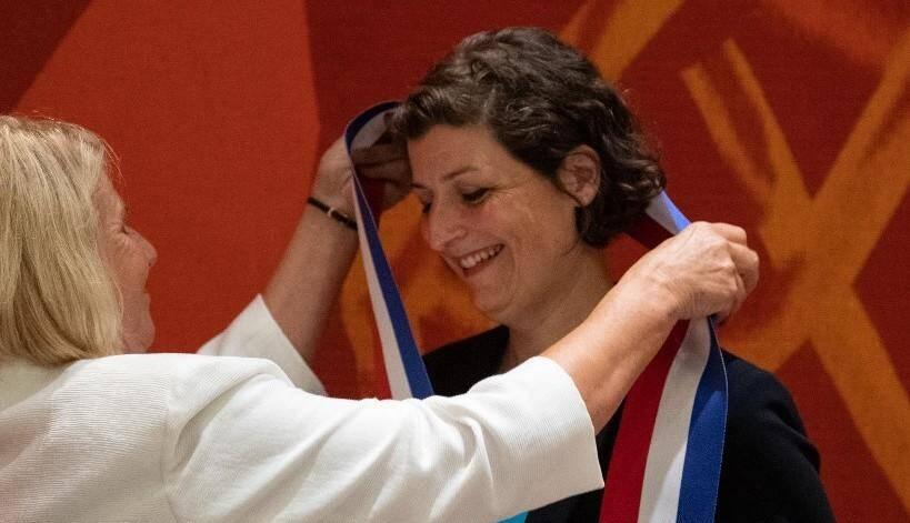 Jeanne Barseghian est devenue samedi 4 juillet officiellement la première maire écologiste de Strasbourg.