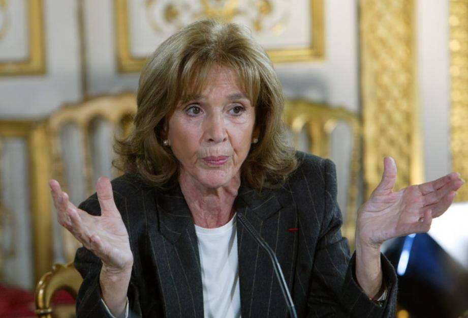 Gisèle Halimi (ici, en 2003) a consacré sa vie à la cause des femmes et au droit à l'avortement.