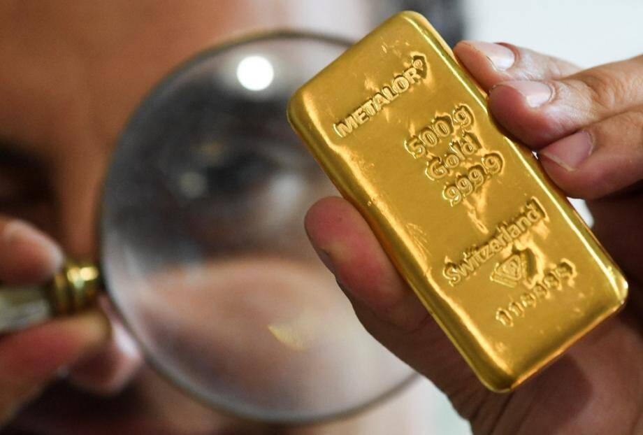 Un lingot d'or chez Godot&Fils le 29 juillet 2020 à Paris