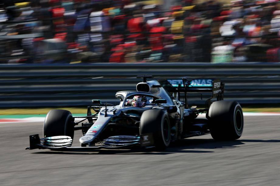 Lewis Hamilton à Austin au Texas en 2019.