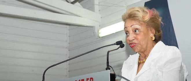 Lucette Michaux-Chevry, ancienne ministre de Jacques Chirac.