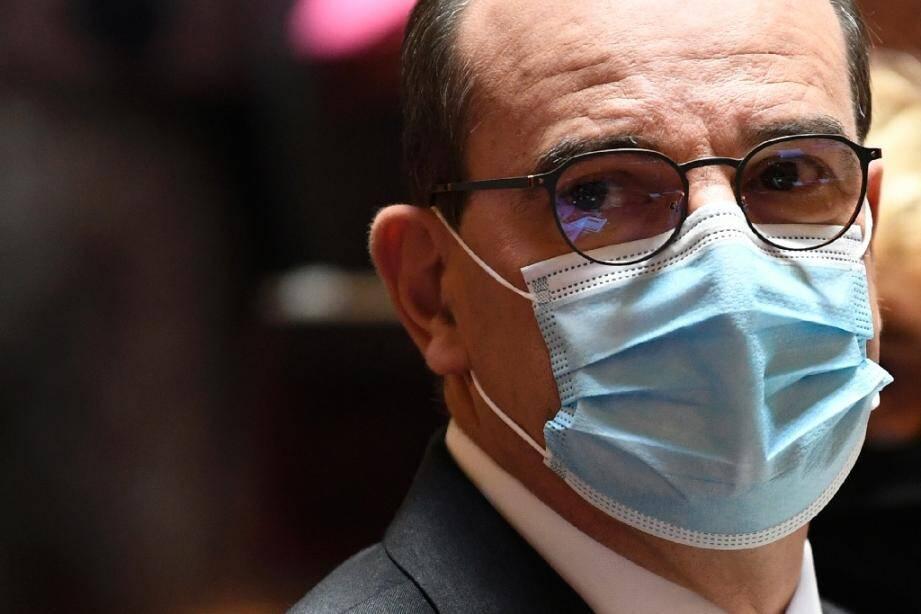 Le Premier ministre Jean Castex, le 16 juillet 2020 au Sénat à Paris