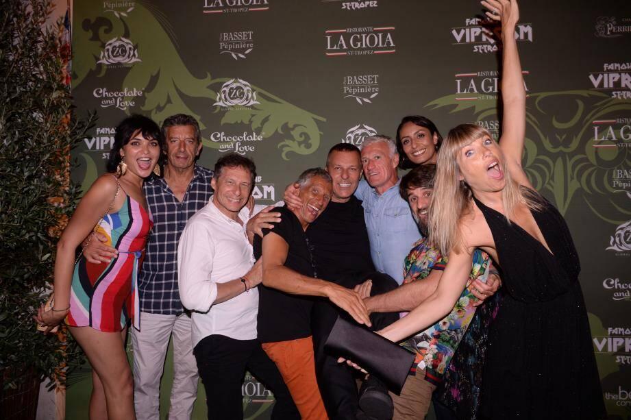 Didier Deschamps, des vedettes et une soirée mémorable : voici l'image que Jean-Roch et ses confrères souhaitent revoir pendant l'été 2020.