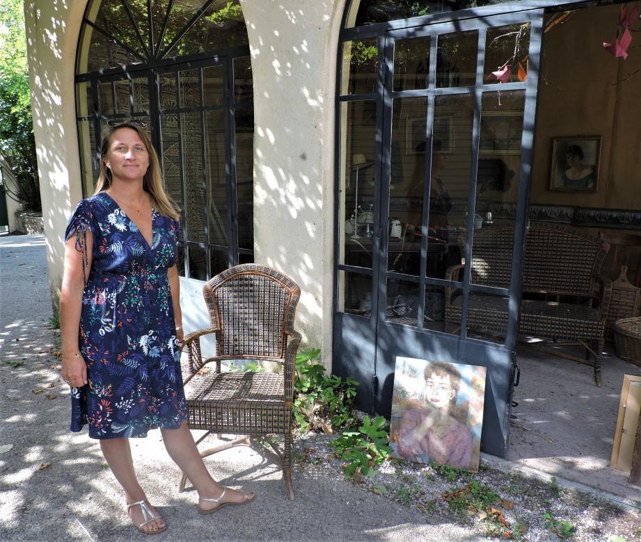 Rose Allongue, organisatrice du salon, a cette année envie de « donner un peu plus de place à l'art ethnique. »
