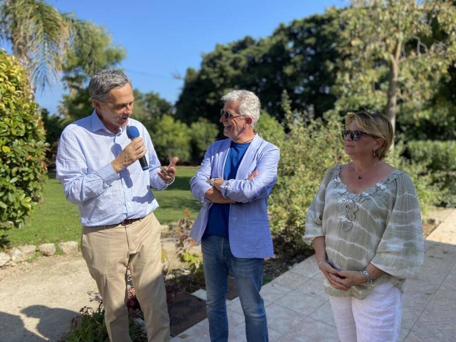 L'émotion était omniprésente vendredi, pour Alida Fornassier et Pierre Lombard, mais également chez le maire de Cap-d'Ail, Xavier Beck.