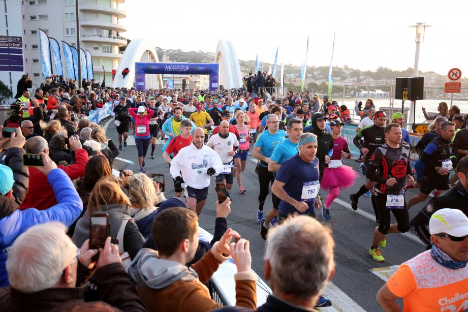 Un marathon dans un décor de rêve attendra encore les coureurs l'an prochain, avec comme but la victoire ou au moins la médaille de finisher.