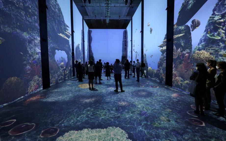 La salle de la Baleine abrite ce cinéma immersif.
