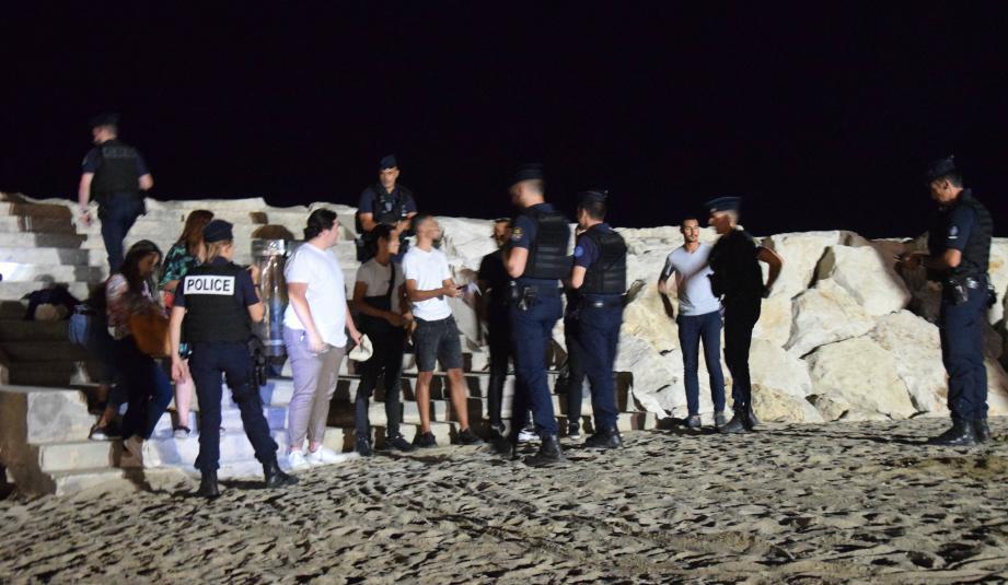 Des dizaines de personnes ont été contrôlées dans le cadre d'une mission de sécurisation.