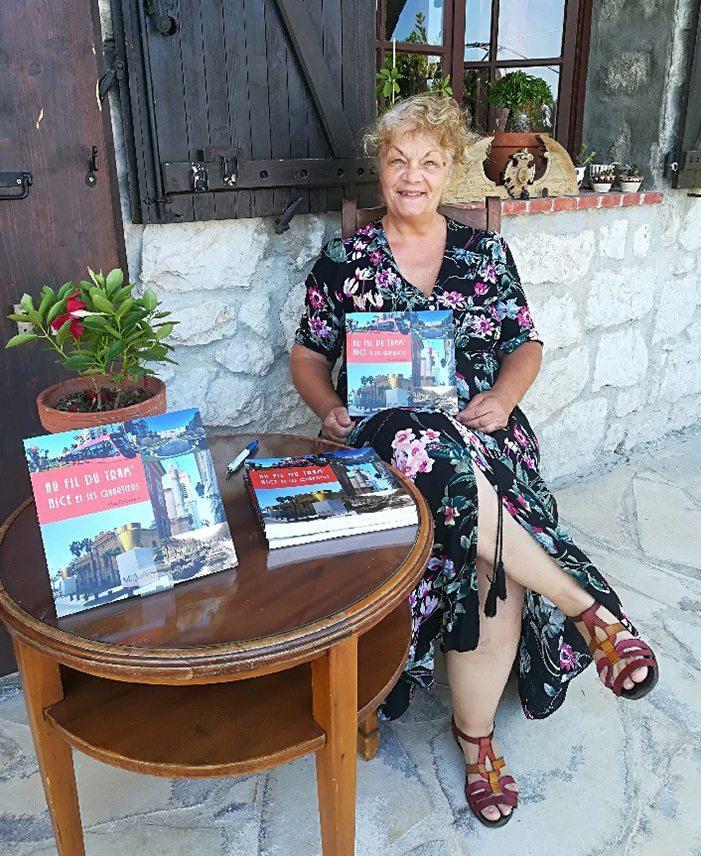Le livre de Claudie Gardon : les dessous du tram pour une trame de nissardité.(DR)