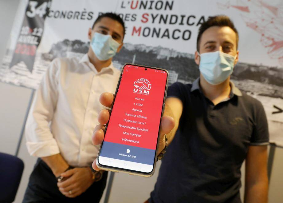 L'application développée par l'Union des syndicats de Monaco centralise de nombreuses informations sociales.