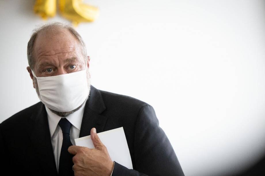 Éric Dupond-Moretti au tribunal à Paris, le 17 juillet 2020.