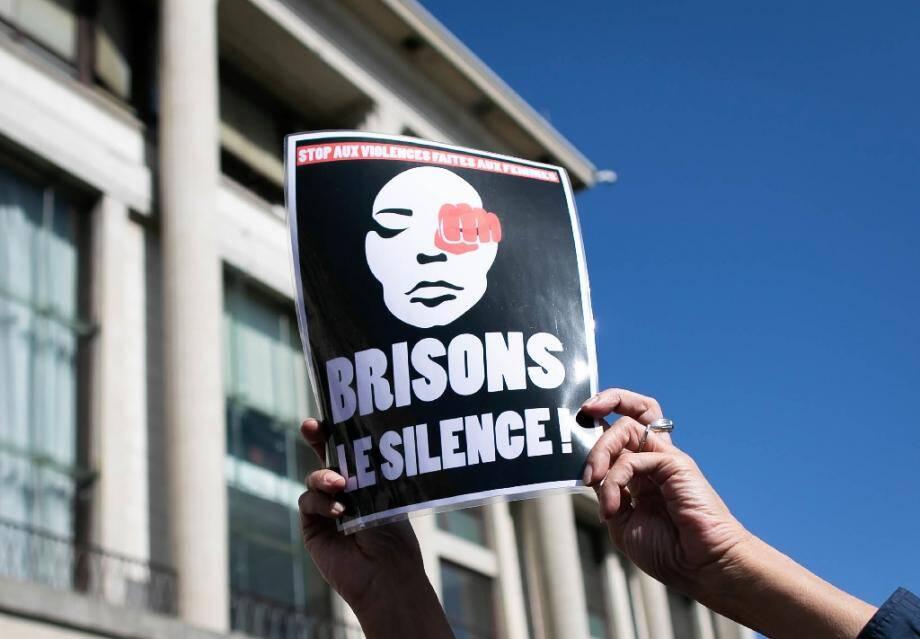 Manifestation contre les violences faites aux femmes, le 18 septembre 2019 au Havre