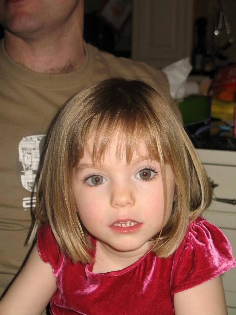 Photo non datée de Maddie, qui a disparu le 3 mai 2007 à Praia da Luz, au Portugal