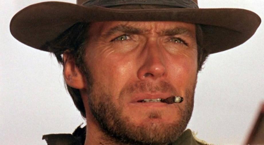"""Clint Eastwood dans """"POur une poignée de dollars"""", dont la musique d'Ennio Morricone est passée à la postérité."""