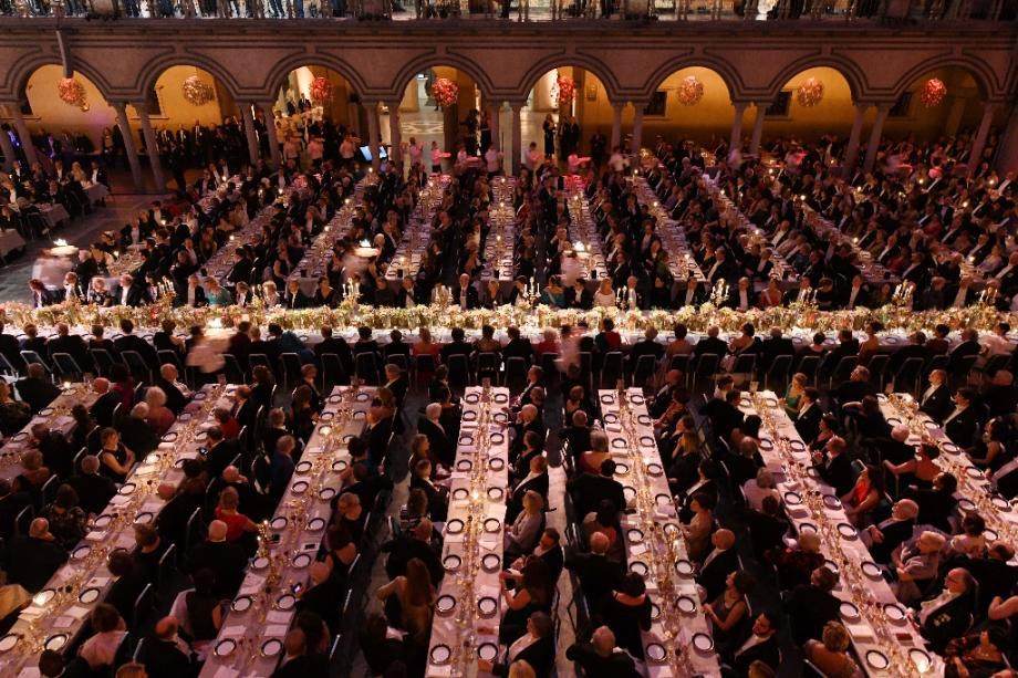 Le banquet du Nobel de la paix le 10 décembre 2019 à Stockholm