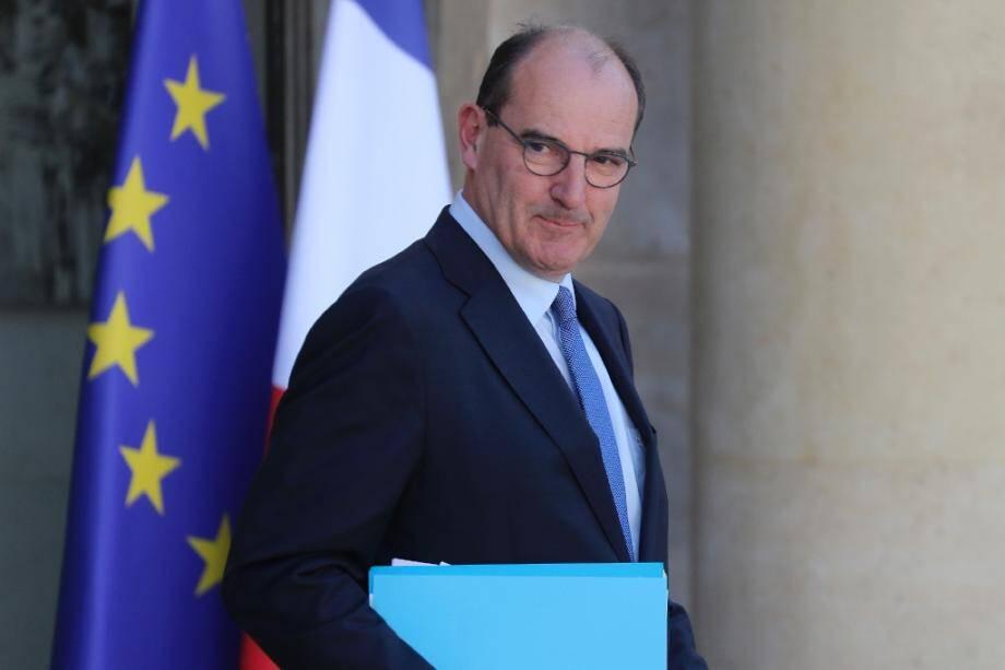 Le Premier ministre Jean Castex quitte l'Elysée après le conseil des ministres le 7 juillet 2020